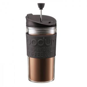 Tasse à café de voyage à piston