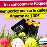 Concours de Pâques:gagnez une carte cadeau de 100€