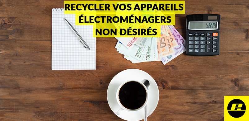 Recycler vos appareils