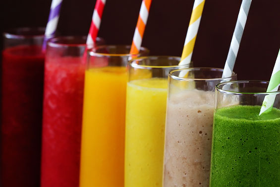 rainbow-smoothies