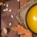 Soupe de potiron spéciale Halloween