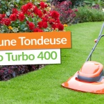 Gagnez une Tondeuse Flymo Turbo 400