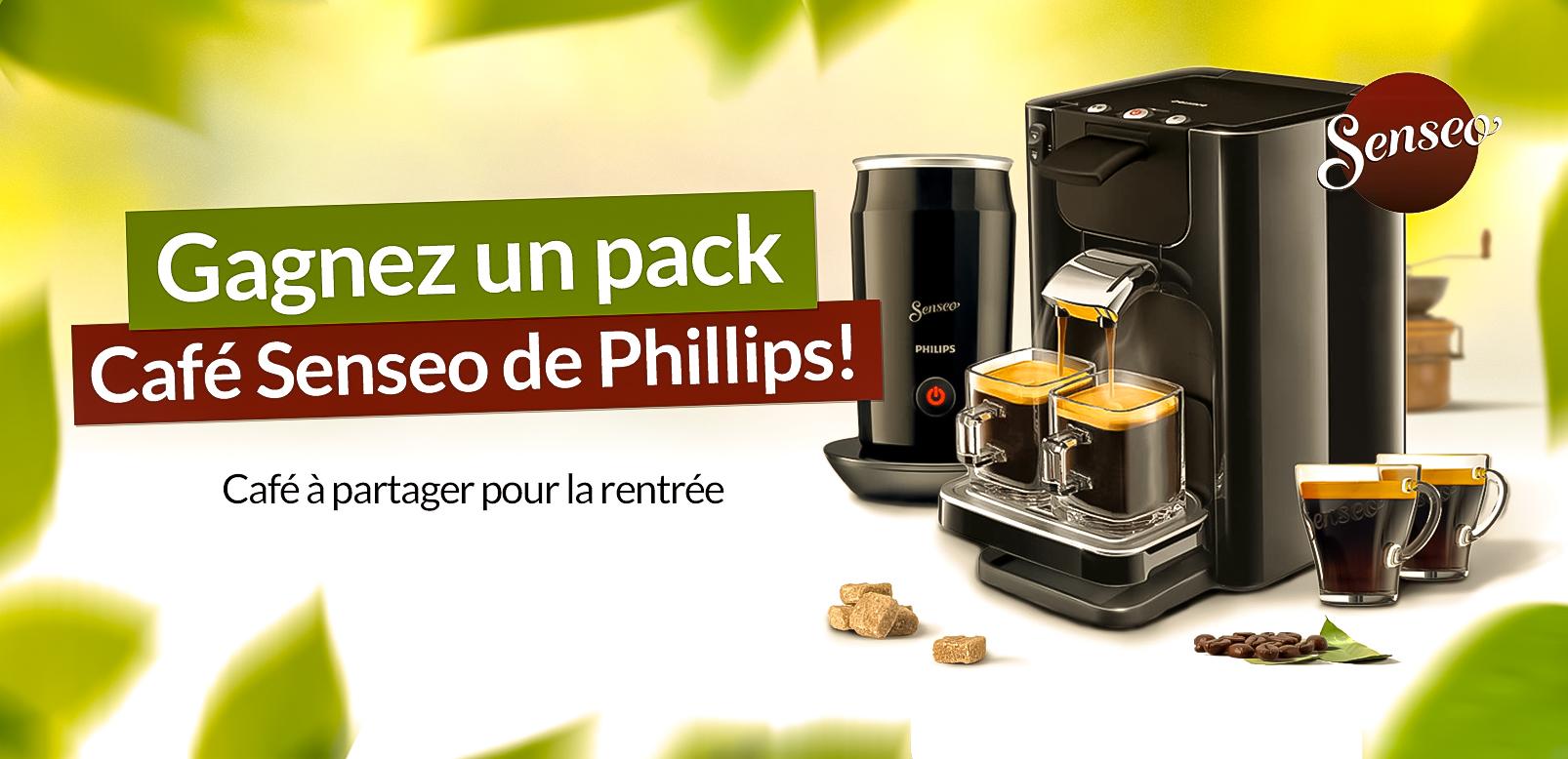 Gagnez un pack Café Senseo Phillips