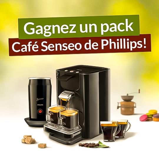 Pour la rentrée, gagnez un pack Café Senseo Phillips !
