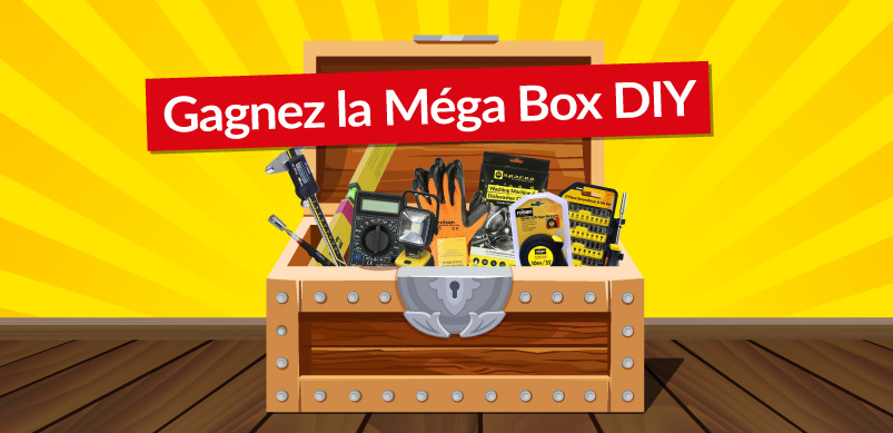 Gagnez La Méga Box DIY d'eSpares France