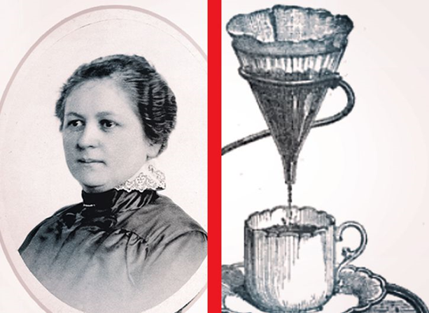 Appareils ménagers inventés par des femmes - Le filtre à café
