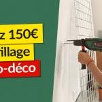 En mars, gagnez 150€ d'outillage brico-déco avec eSpares France !