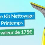 En avril, 175€ en kit de nettoyage printemps à gagner avec eSpares France !
