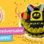 Heureux 5ème anniversaire eSpares !