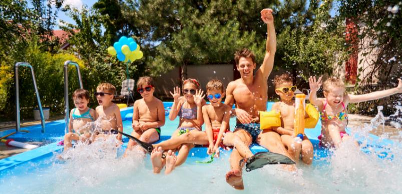 5 raisons d'avoir une piscine