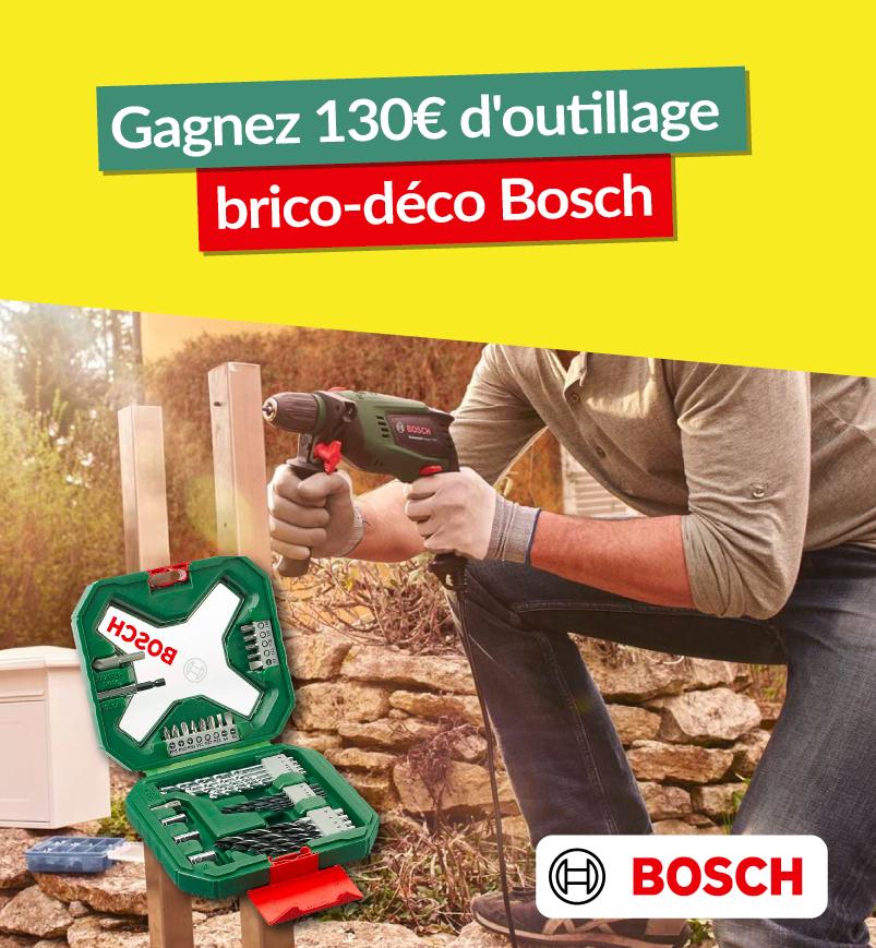 gagnez une perceuse Bosch